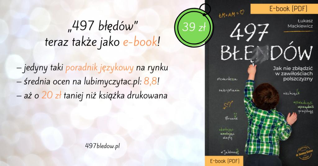 497 błędów e-book PDF